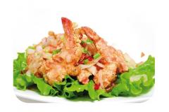 K13 - Crevettes grillées au sel et au poivre