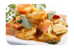 K14 - Crevettes à la sauce thaïlandaise