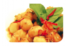 K15 - Noix de St-Jacques à la sauce thaïlandaise