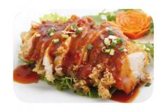 K7 - Poulet croustillant à la sauce du chef