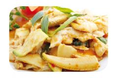 K8 - Poulet à la sauce thaïlandaise
